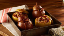 Baked Apples and pears