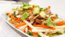 Citrus Cumin Marinated Chicken Salad with Avocado