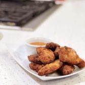 Ginger Fried Chicken Wings