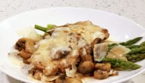 Chicken Madeira with Asparagus