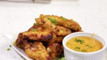 Red Curry Paste Chicken Wings