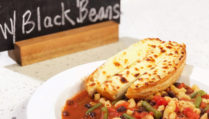 Minestrone Soup with Black Beans